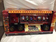 Disney STORE Pixar Cars Mack Wrassler Hauler Monster Truck Dr FRANKENWAGON 1:64