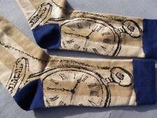 Paire Chaussettes homme femme 39 40 42 43 FANTAISIE horloge big ben pendule NEW