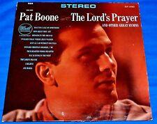 "Pat Boone (The Lord's Prayer) Christian Gospel Vinyl 12"" LP Record 1964"