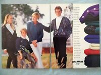 1990 Magazine Advertisement Page For Wal-Mart Department Store Clothes Ad