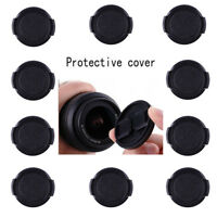 10X 39mm Plastic Snap on Front Lens Cap Cover for Nikon Canon Sony Fujifilm Lens