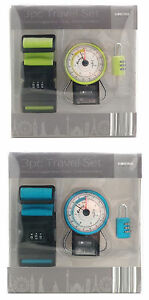 3 Piece Luggage Travel Set ~ Luggage Scales, Suitcase Lock