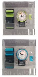 3 Piece Luggage Travel Set ~ Luggage Scales, Suitcase Lock