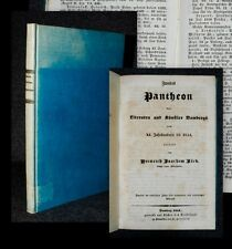 1844 Bamberg Biographien berühmter Bamberger judaica aus Schloss Tegernsee