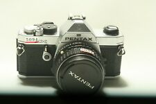 Pentax Mx 35mm SLR Film Camera with 50 mm lens   1.4 Kit