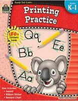 ReadySetLearn: Printing Practice, Grades K-1 from Teacher Created Resources [ Te