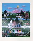 """Jane Wooster Scott Signed & Numbered L/ED Large Serigraph """" Cupid's Arrow """""""