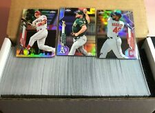 2020 Topps Chrome REFRACTOR - SELECT FROM LIST - TROUT, ACUNA, BRYANT RC 'S +