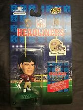 1996 Steve Young Headliners Doll San Francisco 49ers w/ Collector's Catalog NEW