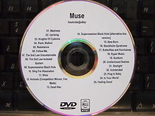 MUSE MUSIC VIDEO DVD 25 MUSIC VIDEOS MADNESS UPRISING KNIGHTS OF CYDONIA BLISS
