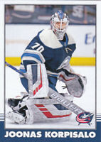 20/21 OPC..JOONAS KORPISALO..RETRO PARALLEL..# 445..BLUE JACKETS..COMBINED SHIP