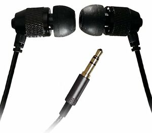 """Short Buds - 15"""" (37cm) Cord Stereo Earbuds (In-Ear) for Clip-on Mp3 Players"""