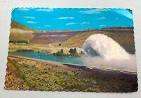 Lucky Peak Dam Souvenir Postcard Vintage Boise Idaho