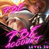 League of Legends Account PBE LOL Smurf unl. BE IP Unranked Level 30 PC