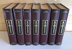 7 Volumes Tomes Livres Révolution Française de Jean De Bonnot 3000 Exemplaires