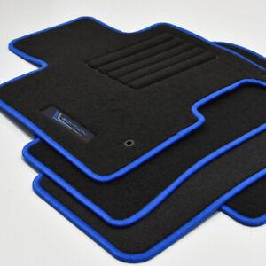Velours Fußmatten Edition passend für Hyundai Tucson IV NX4 ab Bj.2021 blau