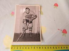 Original Geoff BURMAN Harringay Racers 1950's Ice Hockey Photo