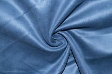 Gray Royal Microfiber Microsuede Suede Upholstery 100% Polyester Fabric BTY