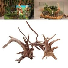 Árbol de tronco madera a la deriva NATURAL planta de acuario peces tanque ornamento de madera