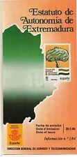 España Estatuto de Autonomía de Extremadura año 1984 (DH-722)