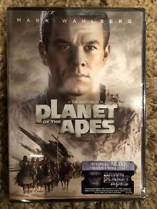 Planet of the Apes (DVD, 2003) Mark Wahlberg - Brand New Sealed! Free Shipping