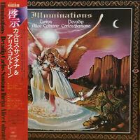 Devadip Carlos Santana Illuminations CBS/Sony SOPN 95 LP Japan OBI INSERT