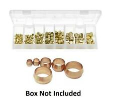 10 x 5mm Brass Olive Barrel Plumbing Compression Fitting Olives Water Pipe Gas
