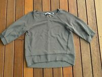 Marella By Max Mara Size 42 / 10 Jumper Charcole 3/4 Sleeves Casual Light