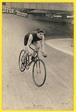 """cpa SPORT CYCLISME VÉLO sur Piste Le COUREUR BRETON """"SAINT QUINT"""" Cycling Fiets"""