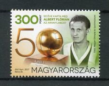 Hungary 2017 MNH Florian Albert Ballon D'Or 50 Yrs 1v Set Football Soccer Stamps