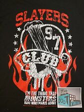 SLAYERS CLUB T-SHIRT - Men's M - Black - Horror Block 06/17