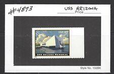 US Scott # 4873 / $19.95 USS Arizona Express Mail 2014 MNH