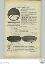 1910 PAPER AD 5 PG Coal Mine Railroad Track Turntable Switches Corrugated Ties