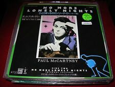 """PAUL MCCARTNEY / BEATLES no more lonely nights ( rock ) 7""""/45 picture sleeve"""