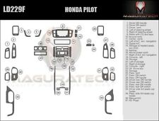 Fits Honda Pilot 2003-2004 NO Navigation Large Wood Dash Trim Kit