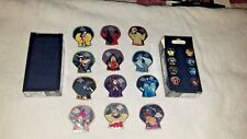 Disney Pins Halloween Mystery Complete Set w/Chasers 2018 MNSSHP FREE SHIPPING