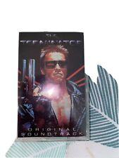 The Terminator Original Soundtrack Cassette Brad Fiedel Rare