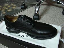 Authentic GEORGE BROWN BILT Men's Leather Black LE Fulton Derby Oxford $395 NEW