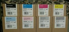 220ml GENUINE 8 EPSON T6061 T6062 T606B T6064 T6065 T606C T6067 T6069 INK 4800
