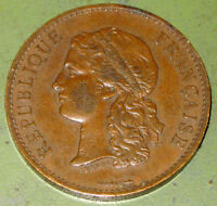 1889 French Bronze Medal Paris Exposition (World's Fair) Centennial by Barre
