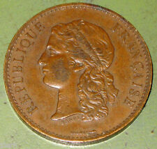 1889 French Bronze Medal Paris Exposition (World's Fair) Centennial by Barre