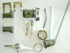 Ignition/Door/trunk Lock Set 1973-78 Road Runner Dart Mopar LOGO KEY A/B-body
