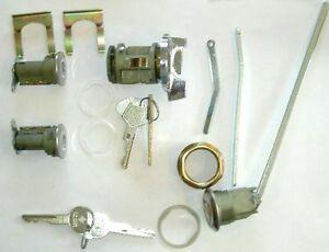 Ignition/Door/trunk Lock Set 1973-85 Charger Diplomat MoPaR LOGO KEY A/B-body