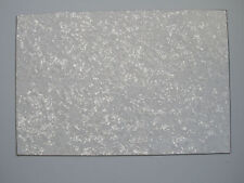 White Pearl 3 Ply Blank Pickguard Scratch Plate Material Sheet 290x430(mm)