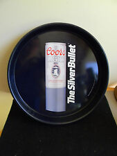 """Coors Lite """"The Silver Bullet"""" Beer Tray - 1990"""