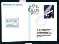 59410) LH A 380 FF/SF earthquake Narita Japan - Frankfurt 25.3.2011, card