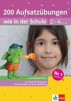 200 Aufsatzübungen ,200 Diktate Verlag Klett