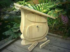 Briefkasten Holz Postkasten zum selbst anmalen  1A Qualität XXL Typ Schrägdach