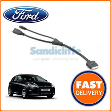 Genuine Ford Focus I-pod / ipod Cable Connector lead 2011 - 2013