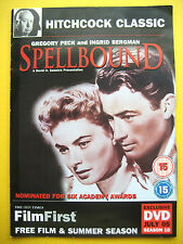 SPELLBOUND, WITH GREGORY PECK , A THE TIMES NEWSPAPER PROMOTION (1 DVD)